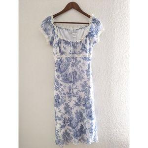 La Belle VINTAGE Victorian Lovers Lace Midi Dress